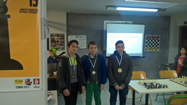 26/3 Rapid u12, u14, u16 Attica Youth Challange